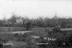 N4_0132_Chislehurst_Common_and_Church_Row_1915
