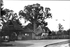 N4-0014_St_Nicholas_church_lychgate_cottages_1887