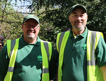 Keepers of the Commons - Jonathan Harvie and Peter Edwards - Photo by Clare Herriot