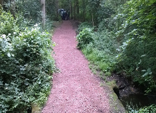 Petts Wood footpath repairs