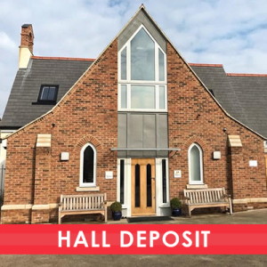 The Old Chapel Hall Hire Deposit