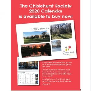 Chislehurst Society Calendar 2020