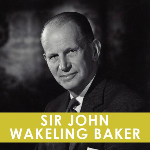 SIR JOHN WAKELING BAKER