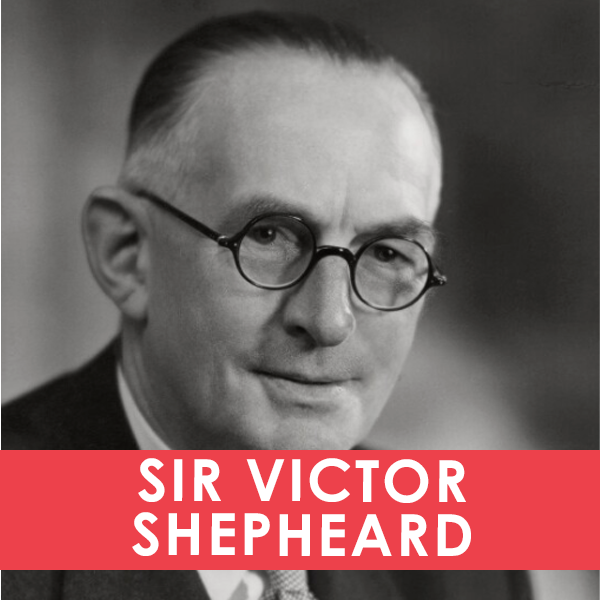 SIR VICTOR SHEPHEARD